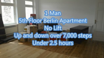 Dublin to Berlin removals